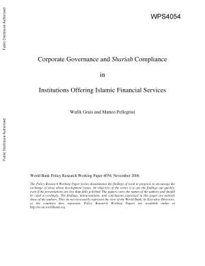 Corporate Governance and Shariah Compliance in Institutions Offering Islamic Financial Services PDF