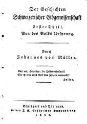 Johannes von Müllers sämmtliche Werke: Bände 7-8