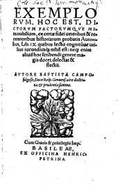 Exempla: libri 9