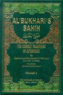 THE CORRECT TRADITIONS OF AL BUKHARI 1 4 VOL 3