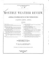 Monthly Weather Review: Volumes 890-891