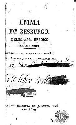 Emma de Resburgo PDF