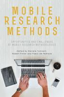 Mobile Research Methods PDF