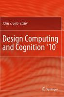 Design Computing and Cognition  10 PDF