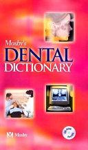 Mosby s Dental Dictionary PDF