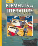 Holt Elements of Literature PDF