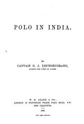 Polo in India