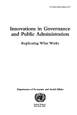 Innovations in Governance and Public Administration PDF
