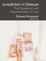 Jurisdiction in Deleuze  The Expression and Representation of Law PDF