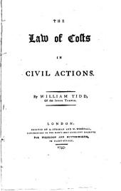 The Law of Costs in Civil Actions