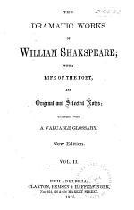 Taming of the shrew. Winter's tale. Comedy of errors. Macbeth. King John. King Richard II. King Henry IV, part 1. King Henry IV, part 2. Henry V. King Henry VI, part 1. Explanatory notes