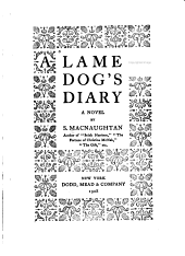 A Lame Dog's Diary: A Novel