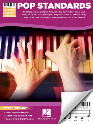 Pop Standards   Super Easy Songbook