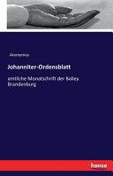 Johanniter Ordensblatt PDF