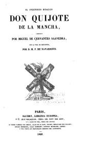 El ingenioso hidalgo Don Quijote del Mancha: Volumen 1