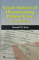 Legal Aspects of Documenting Patient Care PDF
