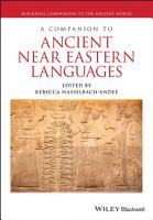 A Companion to Ancient Near Eastern Languages PDF