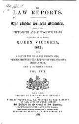 The Public General Statutes PDF