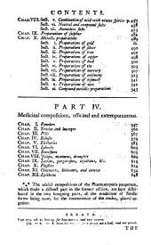 The New Dispensatory: Containing, I. The Elements of Pharmacy. II. The Materia Medica ... III. The Preparations and Compositions of the New London and Edinburgh Pharmacopœias ... The Second Edition Corrected, with Large Additions. [By W. Lewis.]