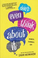 Don t Even Think About It PDF