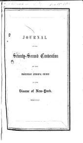 Journal of the Proceedings of the Annual Convention of the Protestant Episcopal Church in [of] the State of New York