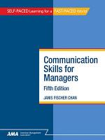 Communication Skills for Managers  Fifth Edition PDF