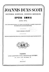 Opera omnia: Volume 18