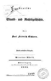 Deutsche Staats- und Rechtsgeschichte