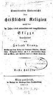 Erweiterter Unterricht der christlichen Religion: Band 1