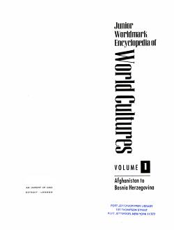 Junior Worldmark encyclopedia of world cultures PDF