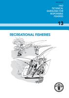 RECREATIONAL FISHERIES PDF