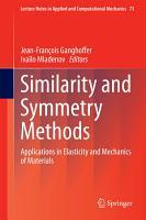 Similarity and Symmetry Methods PDF