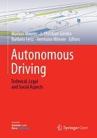 Autonomous Driving PDF