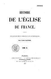 Histoire de l'Eglise de France