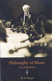 Philosophy of Music: An Introduction