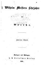 Goethe's sämmtliche Werke: Bände 17-18