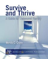 Survive and Thrive PDF