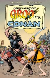 Groo vs. Conan: Issues 1-4