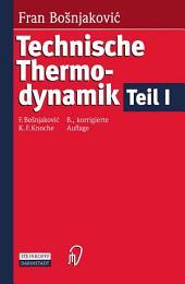 Technische Thermodynamik: Teil 1, Ausgabe 8