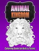 Animal Coloring Book for Older Kids & Teens