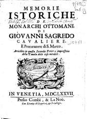 Memorie istoriche de monarchi ottomani