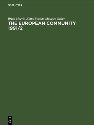 The European Community 1991/2