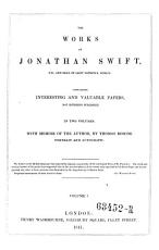 The Works. Containing Interesting and Valuable Papers, Not Hitherto Published. With Memoir of the Author, by Thomas Roscoe