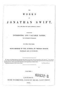 The Works  Containing Interesting and Valuable Papers  Not Hitherto Published  With Memoir of the Author  by Thomas Roscoe Book