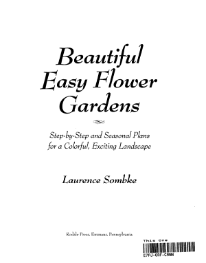 Beautiful Easy Flower Gardens PDF