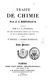Traité de chimie: Volume 1