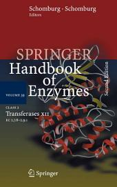 Class 2 Transferases XII: EC 2.7.8 - 2.9.1, Edition 2