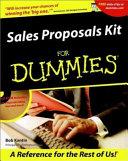 Sales Proposals Kit For Dummies