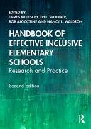 Handbook of Effective Inclusive Elementary Schools