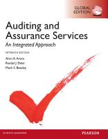 Auditing and Assurance Services  Global Edition PDF